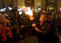 Mikuláš na náměstí v Liberci