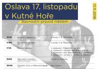 17. listopad v Kutné Hoře