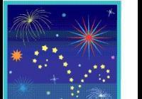 Novoroční ohňostroj - Nymburk