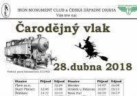Čarodějný vlak - Plzeň