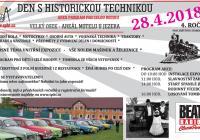 Den s historickou technikou - Velký Osek