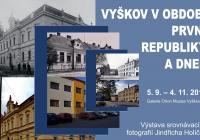 Vyškov v období první republiky a dnes - Muzeum Vyškovska