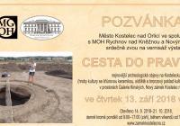 Cesta do pravěku - Nový zámek Kostelec nad Orlicí