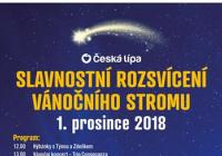 Rozsvícení vánočního stromu - Česká Lípa