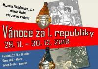Vánoce za I. republiky - Zámek Vlašim