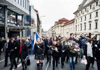 17. listopad - Vzpomínkový akt v Žitné ulici Praha
