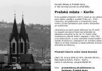 Pražská města - Karlín (přednáška)