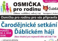 Pálení čarodějnic v Ďáblickém háji Praha