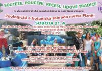 Den Země a Čarodějnice v Zoo Plzeň