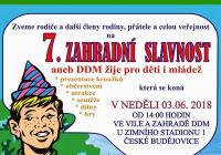 Zahradní slavnost - Ddm České Budějovice