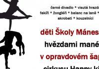 Cirkusové galapředstavení žáků Školy Mánesova - Sokolov