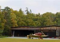 Den otevřených dveří hangáru na letišti Točná - Praha