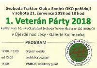 Veterán Párty - Praha Újezd nad Lesy