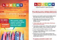 Bazárek s dětským oblečením - Obchodní centrum Lužiny Praha