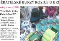 Sběratelské burzy - Zámek Rosice