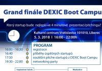 Grand finále DEXIC Boot Campu pro startupy