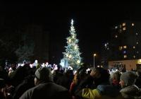 Rozsvícení vánočního stromu - Týnec nad Sázavou