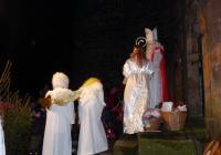 Mikuláš s čerty a andílky - Hrad Týnec nad Sázavou