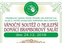 Soutěž o nejlepší domácí bramborový salát - Praha