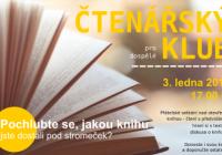 Čtenářský klub pro dospělé - Jakou knížku jste dostali pod stromeček?