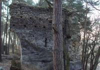 Zřícenina hradu Milčany