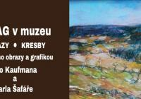 AMAG v muzeu – obrazy, kresby (Náchodské výtvarné jaro)