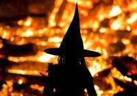 Pálení čarodějnic ve městě Třešť