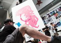 Raw Art Wrestling - den s ilustrací