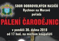 Pálení čarodějnic v Rychnově na Moravě