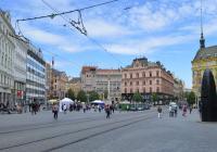 Den policie České republiky na náměstí Svobody v Brně