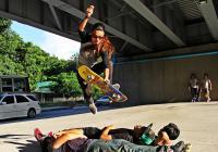 Tajemství skateboardingu v Barmě