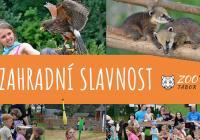 Zahradní slavnost v Zoo Tábor