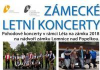 Zámecké letní koncerty - Lomnice nad Popelkou