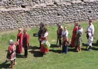 Táborští střelci na hradě Landštejně
