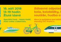 Den bez aut - Žluté lázně Praha