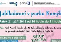 Jablkobraní v parku Kamýk - Praha