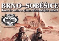 Jízda do vrchu a výstava historických vozidel Brno-Soběšice