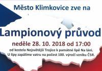 Lampionový průvod - Klimkovice