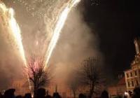 Novoroční ohňostroj - Česká Skalice
