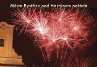Novoroční ohňostroj - Bystřice pod Hostýnem