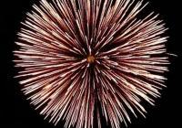 Novoroční ohňostroj - Nová Bystřice