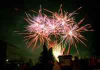 Novoroční ohňostroj - Prušánky