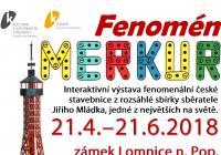 Stavebnice Merkur na zámku Lomnice nad Popelkou