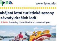 Zahájení letní turistické sezóny - Lipno nad Vltavou
