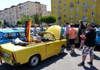 Sraz a výstava vozidel trabant - Blansko