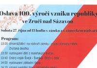 Oslava 100. výročí vzniku republiky