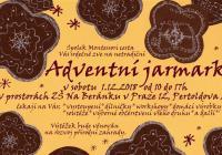 Adventní jarmark v Zš Na Beránku - Praha
