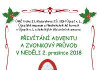 Rozsvícení vánočního stromu - Praha 21