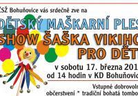 Dětský karneval Bohuňovice