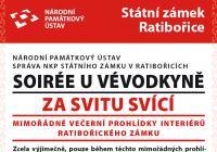 Noční prohlídky zámku Ratibořice - Česká Skalice